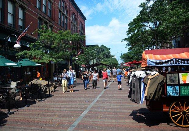 Pedestrian walkway, Livable Communities