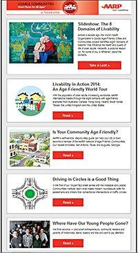 AARP Livable Communities Newsletter