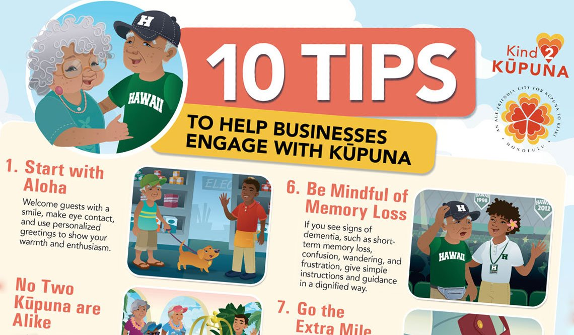 10 Tips To Help Businesses Engage With Kupuna
