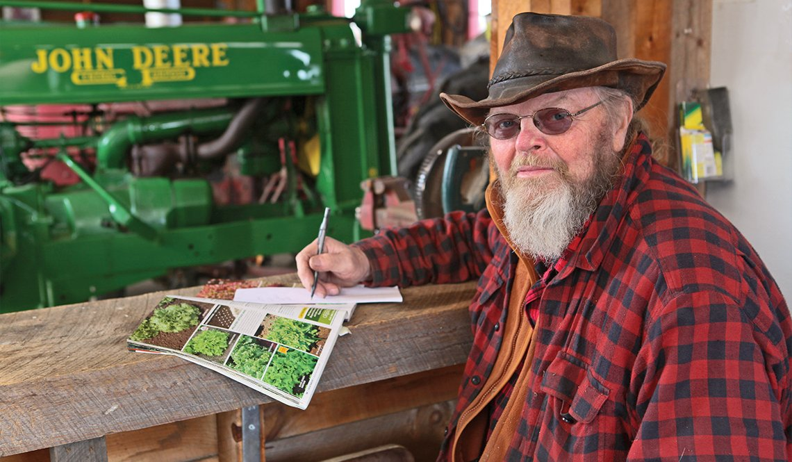 Bob Sutton, manager of the Jamestown Community Farm