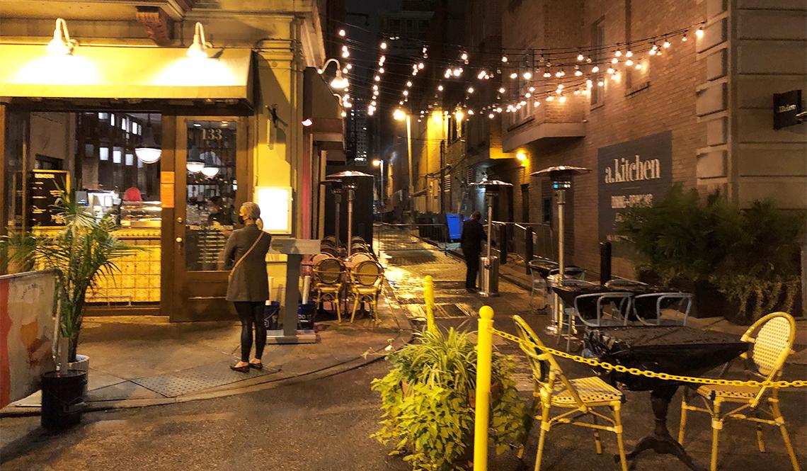 Philadelphia alleyway activation