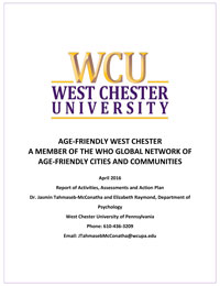 Cover of the West Chester, Pennsylvania, Action Plan