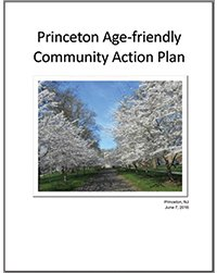 Cover of the Princeton Age-Friendly Action Plan