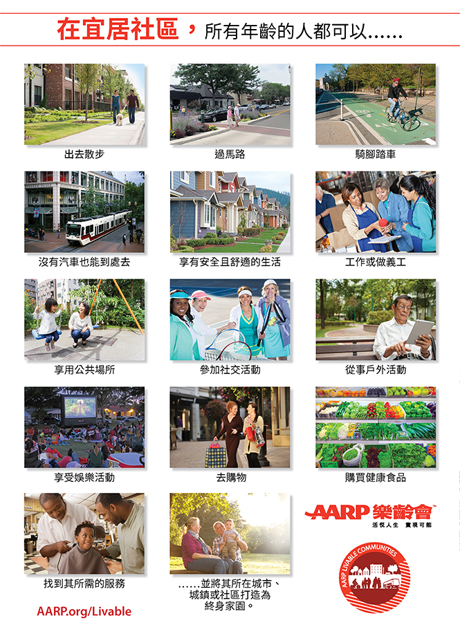 Chinese-In a Livable Community Poster