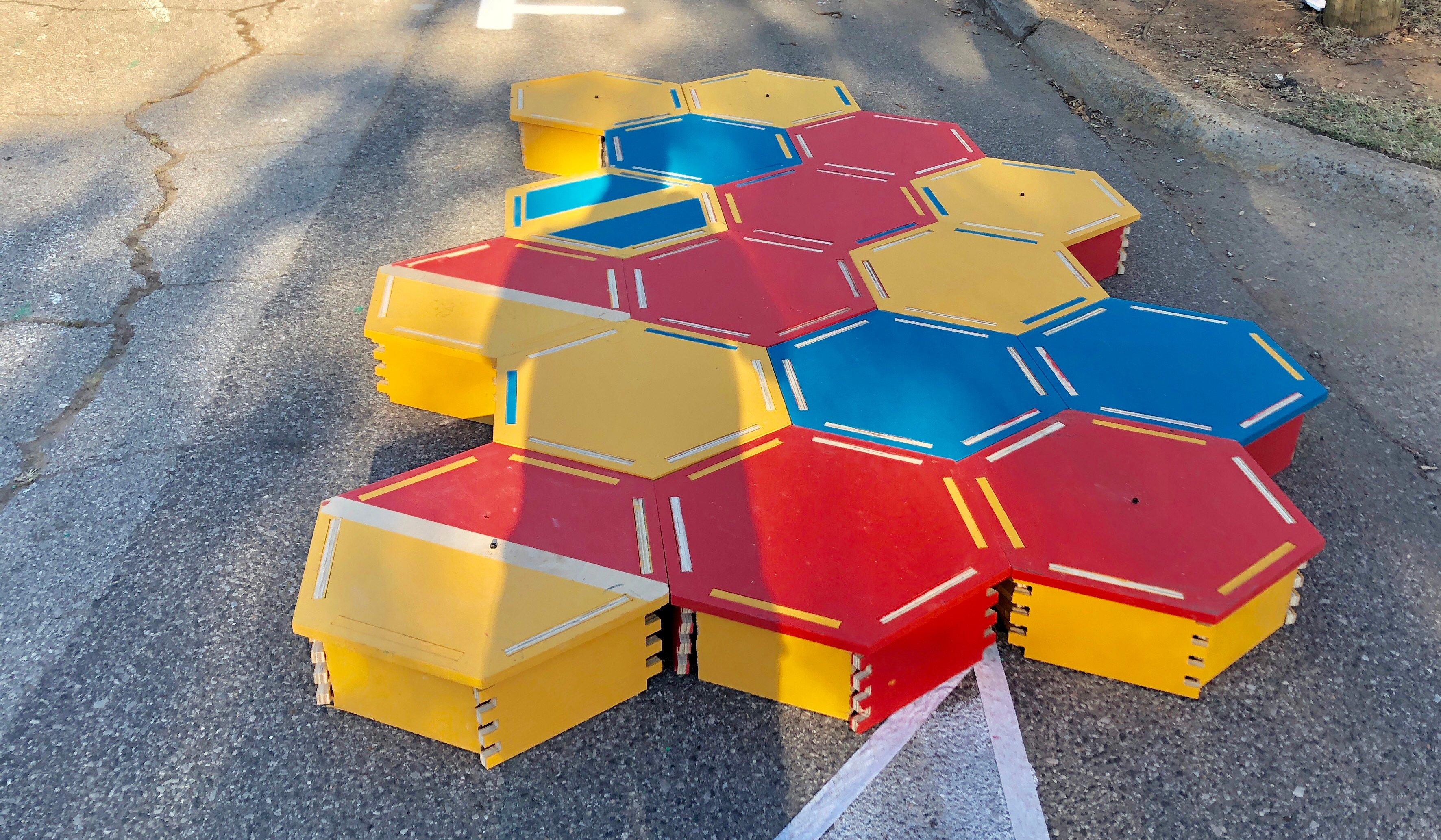 Hexagon Bulbouts