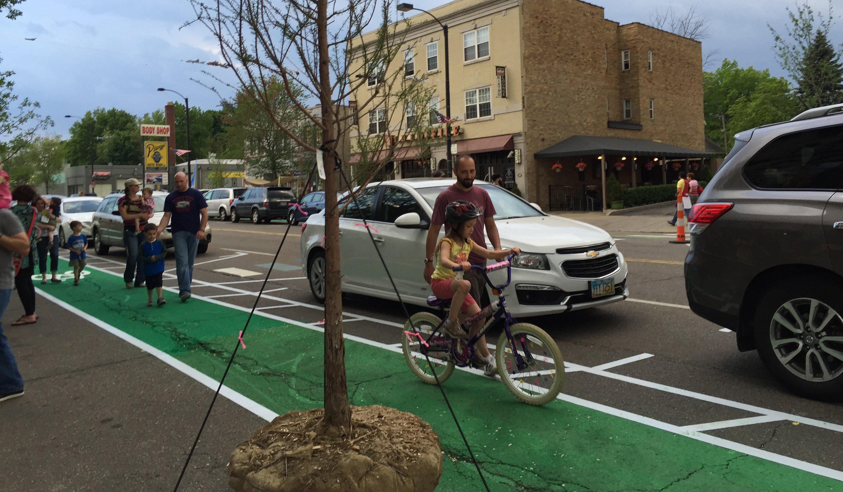 Green Bike Lane