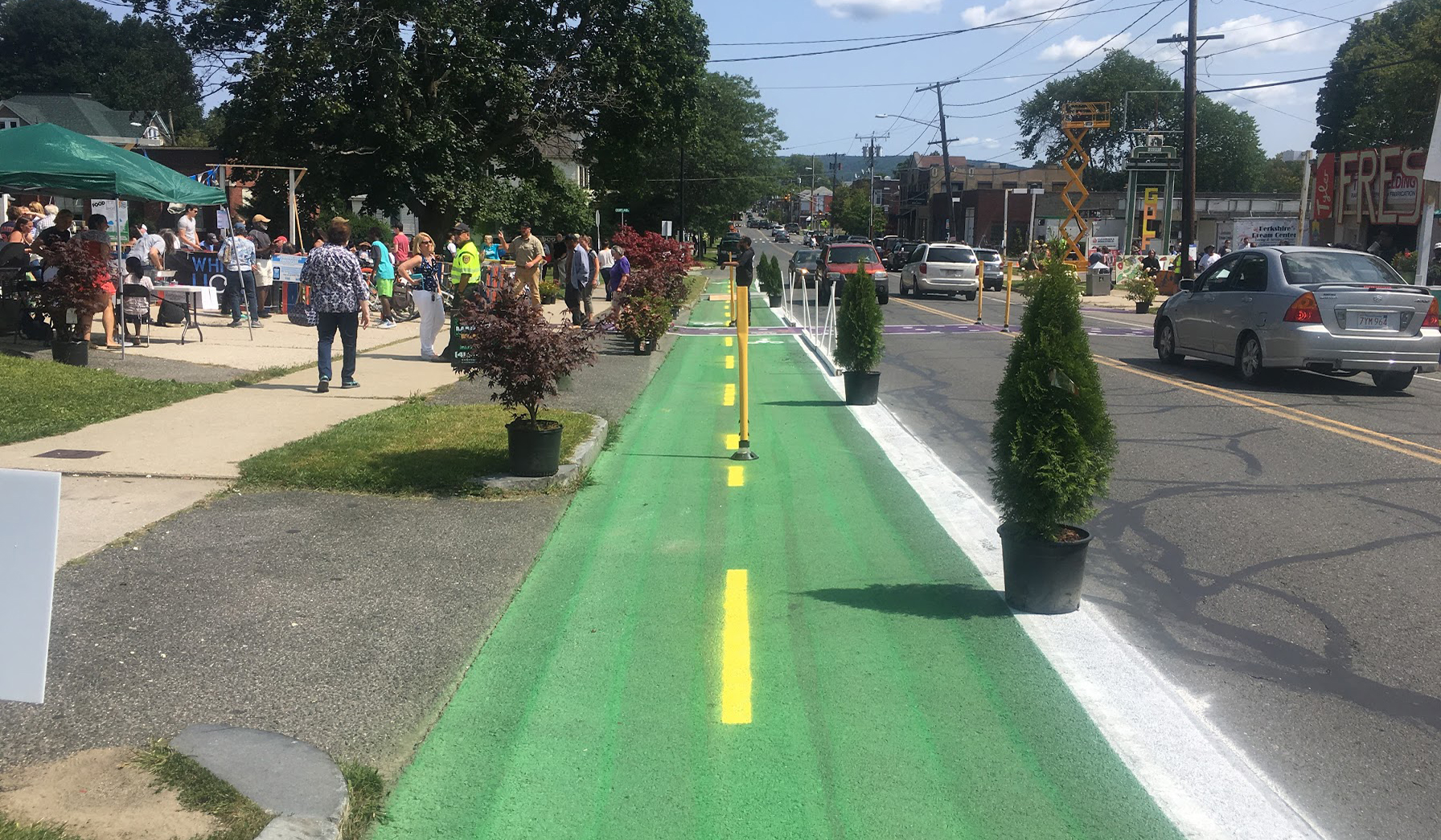 Two-way Cycle Track