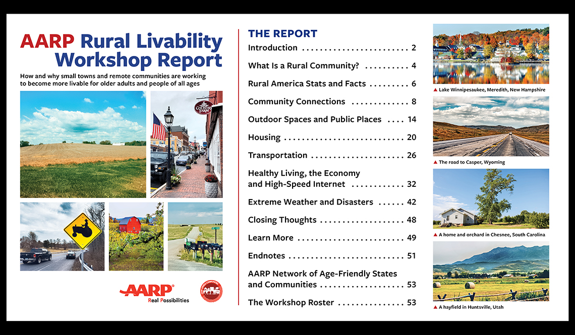 AARP Rural Livability Workshop Report