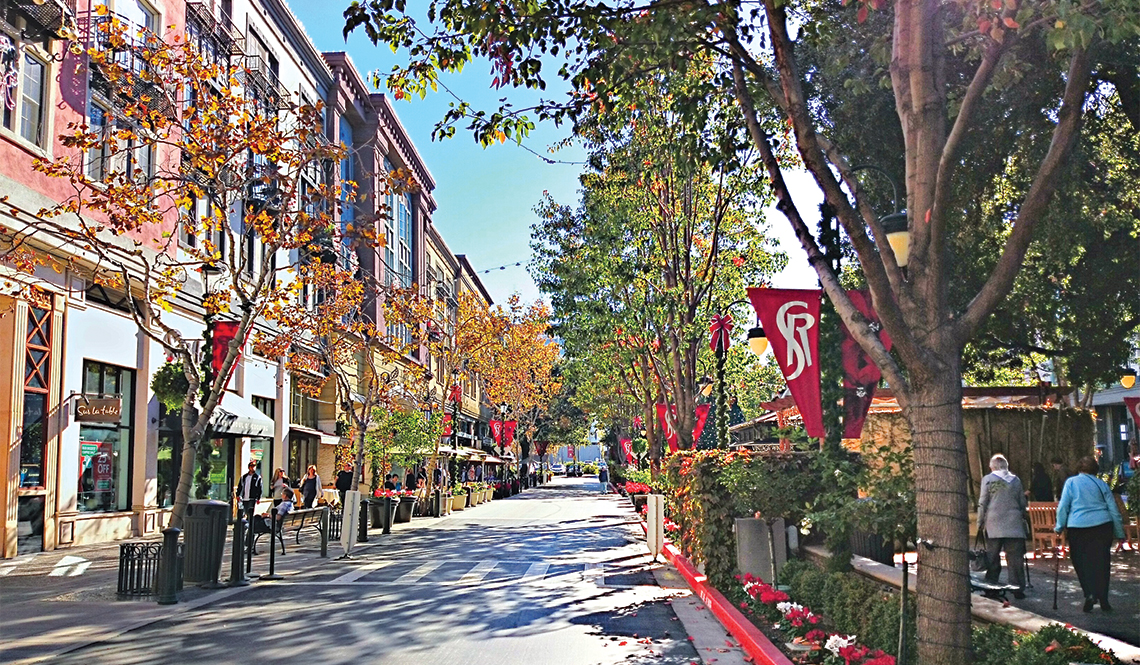 Santana Row, San Jose, California
