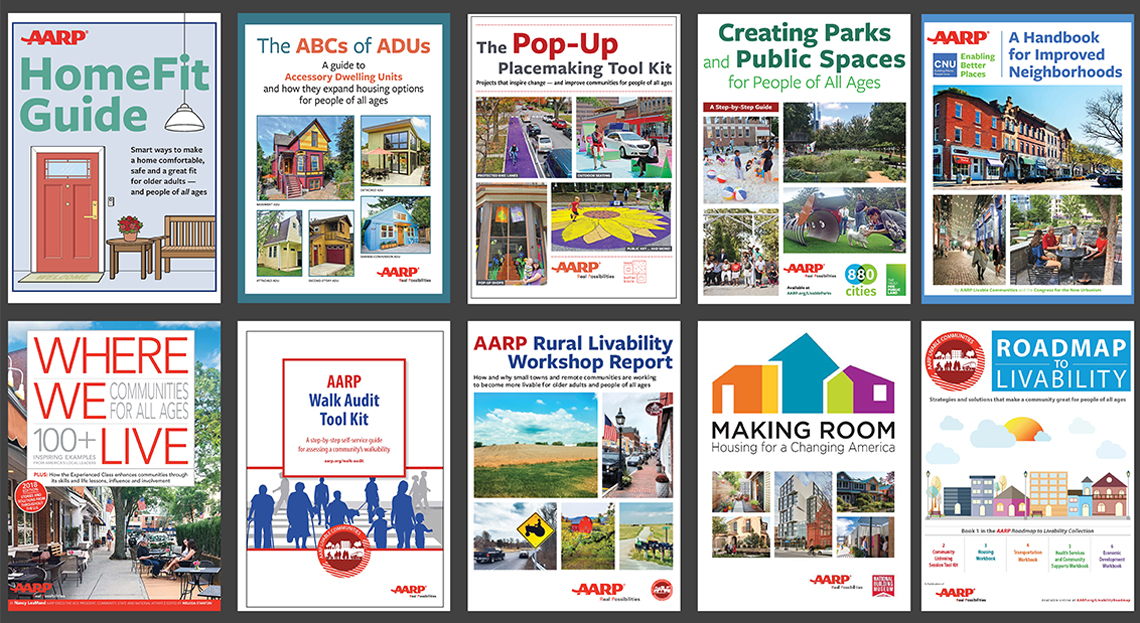 AARP Livable Communities Publications