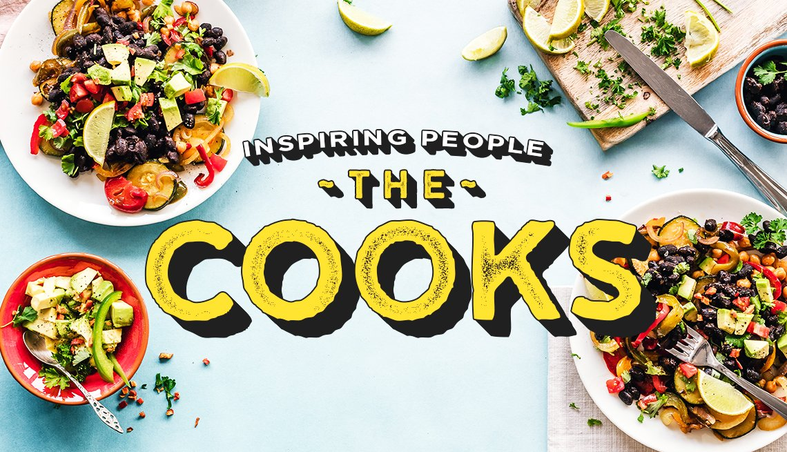 Inspiring People - The Cooks graphic