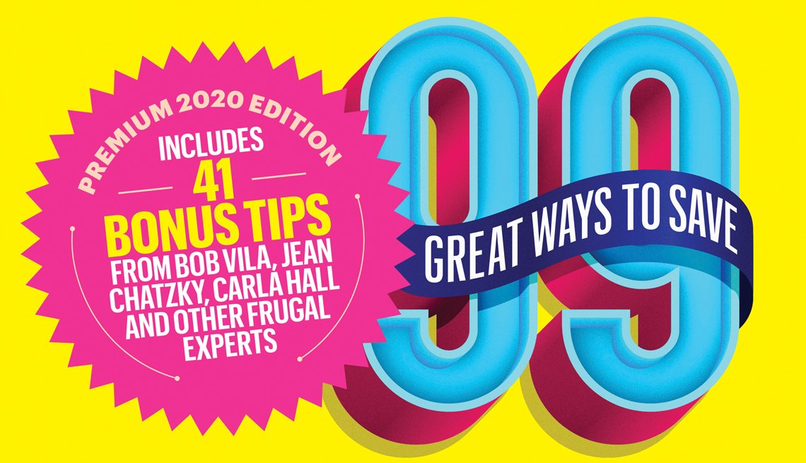 99 Great Ways to Save promotional graphic
