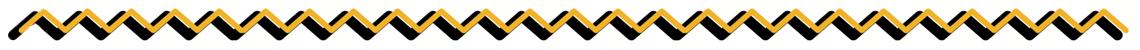 jagged yellow border decorative detail