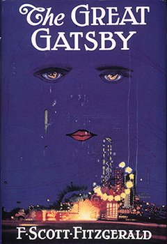 cover of first edition of 'The Great Gatsby' from 1925