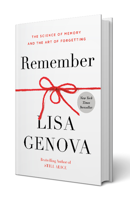 cover of 'Remember: The Science of Memory and the Art of Forgetting' by Lisa Genova