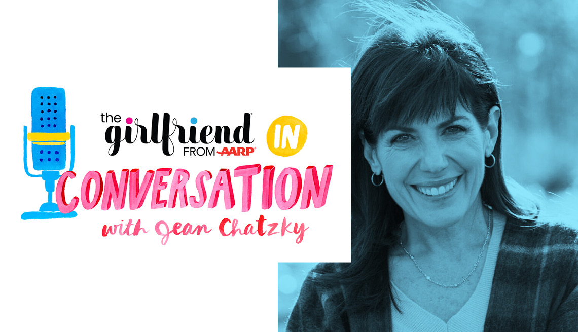 the girlfriend from a a r p in conversation with jean chatzky