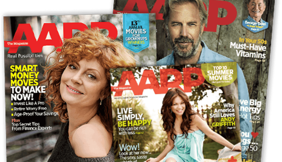 Picture AARP Magazine Covers