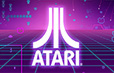 Purple Atari Logo
