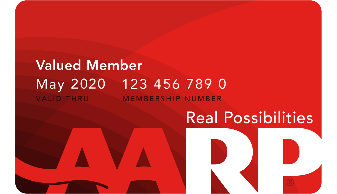 Image of an AARP membership card