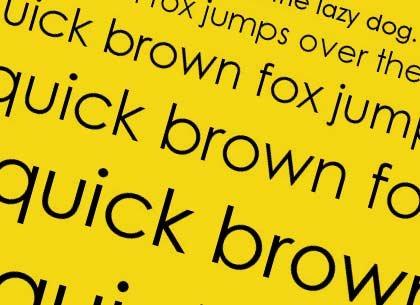 printer fonts