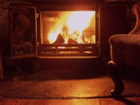 Burn seasoned firewood - properly dried out - and save money.
