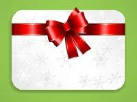 Tarjetas de regalo para las fiestas por lo general expiran dentro de cinco años - la imagen de la tarjeta de regalo