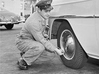 Keep tires inflated and other ways to save on gas.