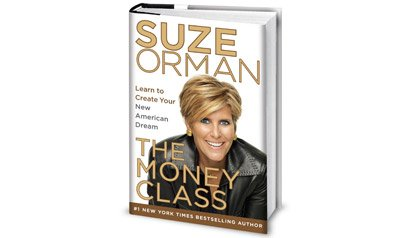 book cover for The Money Class by Suze Orman