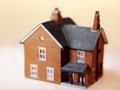 Una maqueta de una casa
