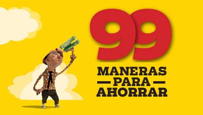 99 Maneras de ahorrar