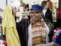 Bargain hunter - Thrift stores are often community centers, with classes, food and meeting rooms.