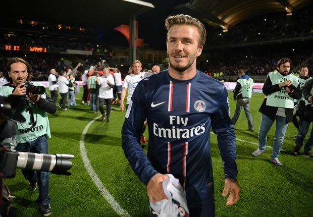David Beckham, Los deportistas mejor pagados del mundo