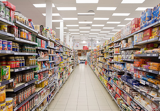Supermarket Aisle, Where to Find the Lowest Prices.