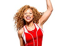 Fitness expert Donna Richardson Joyner.