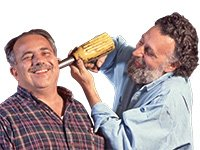 Tom and Ray Magliozzi from NPR's Car Talk.
