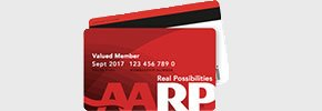 AARP Membership discount card
