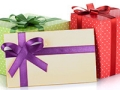 Colorful gift boxes, Birthday freebies and deals