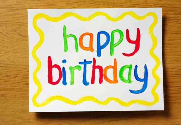 Tarjetas de cumpleaños, regalos de cumpleaños y ofertas