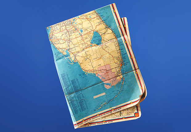 Vintage road maps, Money Report: What to do with $200