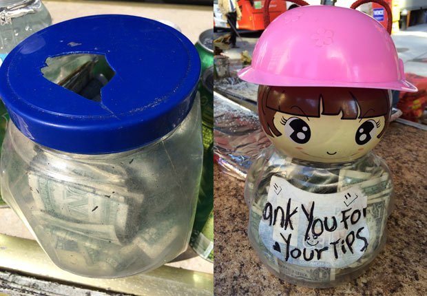 Tip Jars. Modern-Day Guide to Tipping