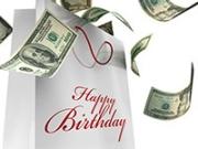 Gráfico de dinero - Sácale provecho a tu cumpleaños y a tu edad