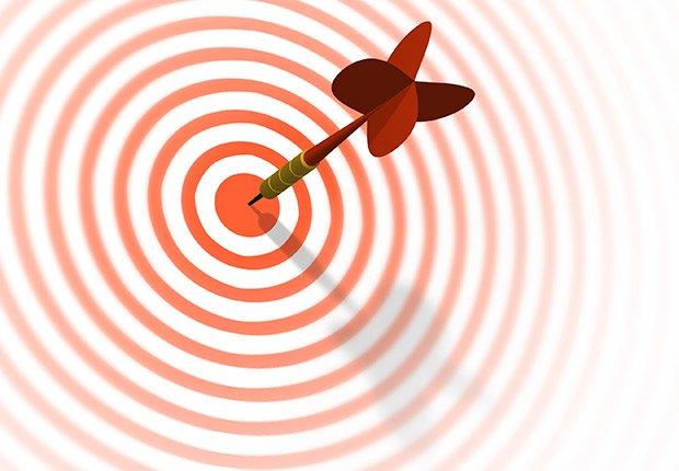 Dart & target, my goal is
