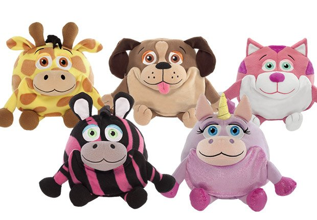 J-Animal wearable stuffed animals