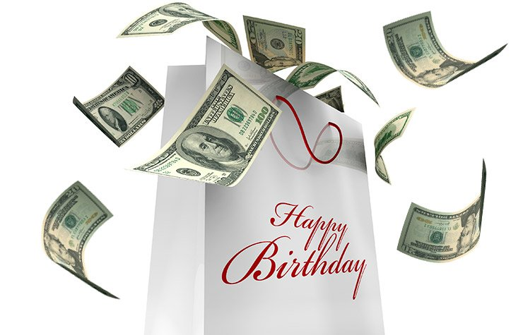 Money Milestone Birthdays