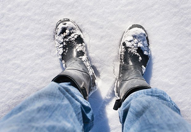 Cheapest ways to stay warm this winter, Waterproof Boots