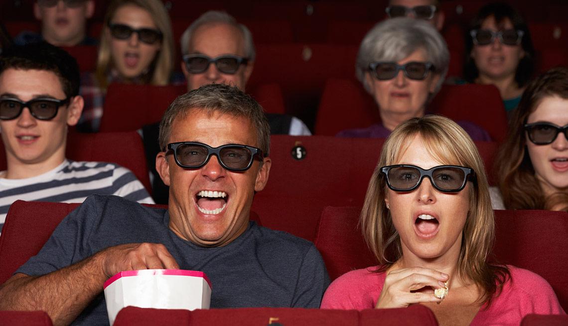 Descuentos en entradas de cine para adultos mayores