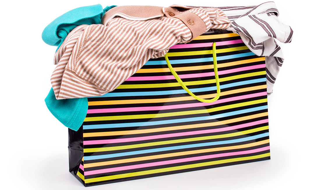 Easiest Things to Sell at a Yard Sale - Clothing by the Bag