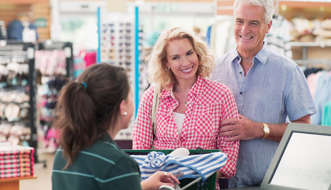 Many stores, including Kohl's, have a discount day for those over 55. On Wednesdays get 15 percent off Kohl's purchases—buy $100 worth of merchandise and save $15.