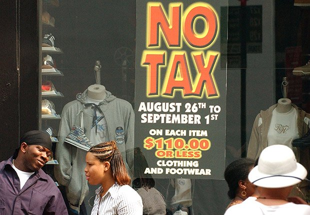 Artículos a la venta sin impuestos