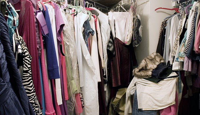 Downsizing? Ditch these 10 items - clothes
